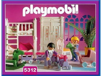 Playmobil set 5312 barnsovrum