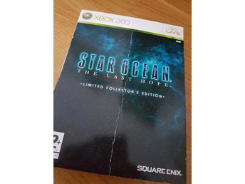Star Ocean the last hope limited collectors edition xbox 360