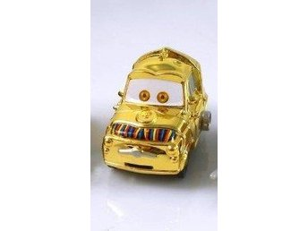Disney Cars Bilar Pixar Star Wars - C-3PO as Luigi Gold   NY