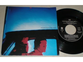 U2 45/PS Even better than the real thing 1992 VG++