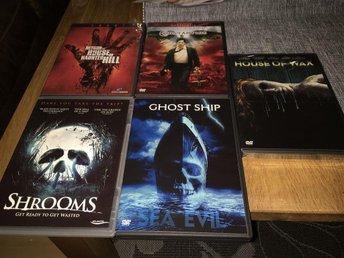 Horr skräck Dvde Box 5 filmer - Reftele - Horr skräck Dvde Box 5 filmer - Reftele