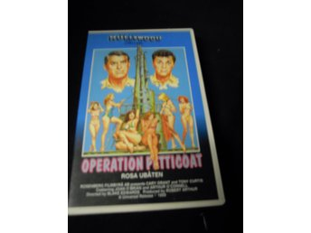 Operation  Petticoat / rosa ubåten - VHS