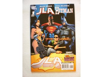 US DC - Justice League/Hitman # 1-2 - ***COMPLETE*** in F/VF and VF