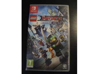 LEGO THE NINJAGO MOVIE VIDEOGAME  / NINTENDO SWITCH / NYTT & INPLASTAT