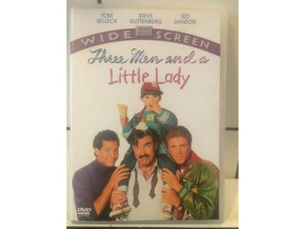 Three men and a little lady - Fint skick - UTGÅTT -Tom Selleck