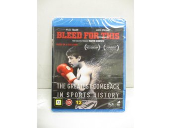 Bleed For This (Blu-ray) - MKT FINT SKICK!