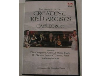 Various ‎– Live Concert Of The Greatest Irish Artists - Gaelforce