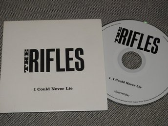 The Rifles - I Could Never Lie CD Singel (Pappfodral) PROMO 2008