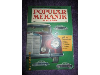 Populär Mekanik Magasin. Bilar Dodge Buick April 1955
