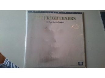 The Frighteners No Rest For The Wicked Letterboxed Laserdisc NTSC