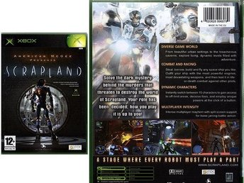 SCRAP LAND / tredjepersonsaction XBOX / XB / NY <---- JULKLAPP