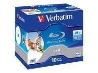 Verbatim BD-R 25GB 10-pack jewelcase