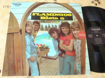 FLAMINGO KVINTETTEN - FLAMINGOS BÄSTA 5 LP 1976