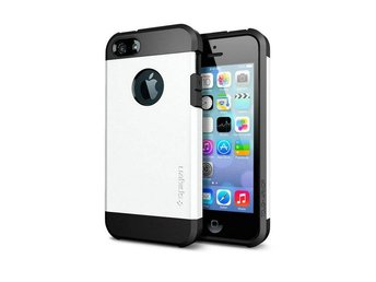 Iphone 5 5S Tough Armor Cover Skal Skydd Case Vit
