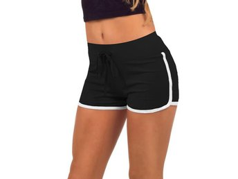 Shorts Träningsshorts Hot Pants - Svart Stl. M - Hong Kong - Shorts Träningsshorts Hot Pants - Svart Stl. M - Hong Kong