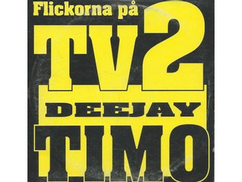 DEEJAY TIMO - FLICKORNA PÅ TV2   (CD MAXI/SINGLE )