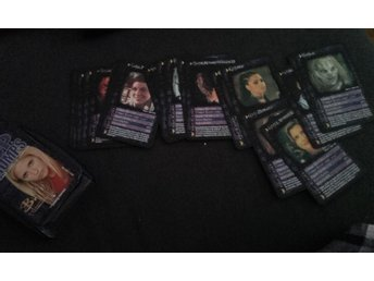 Buffy Angel kortspel Top Trumps
