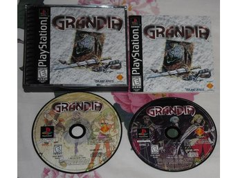 PlayStation/PS1: Grandia (AMERIKANSKT)