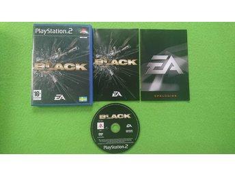 Black SVENSK PS2 Playstation 2 - Hägersten - Black SVENSK PS2 Playstation 2 - Hägersten