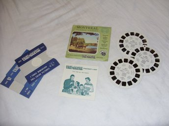 Montreal Quebec Canada Vintage View Master slides Sawyers Inc Rare 1956 USA