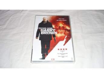 Harry Brown - Michael Caine - Inplastad - Svensk text