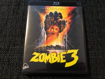 LUCIO FULCI'S ZOMBIE 3 MED SOUNDTRACK CD (SEVERIN, BLU-RAY)