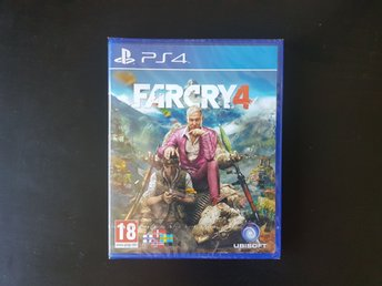 Far Cry 4 (PS4) - nytt och inplastat!