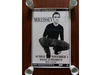 Morrissey - The Smiths Konsertaffisch