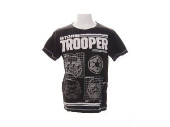 Star Wars, T-shirt, Strl: 134/140, Svart/Vit