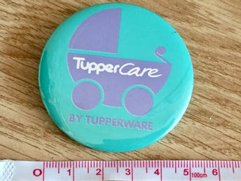 TupperCare by Tupperware badge knapp kampanjknapp pin