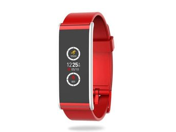 MyKronoz ZeFit 4 Activity tracker Red/Silver