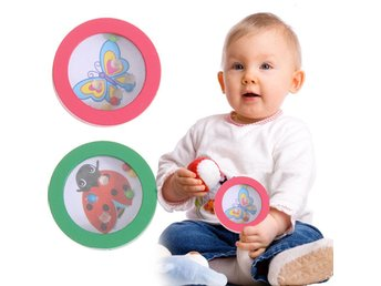 Ball Maze Toy Pussel Trä Kid Hand-Eye Balancing Game Barn Baby Educational Toy