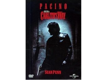 Carlito's Way DVD Al Pacino Sean Penn! (Carlitos Way)