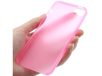 iPhone 5/5S Ultratunt TPU Skal Rosa