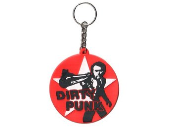Dirty Harry - Punk - Nyckelring