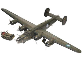 Revell plastic kit - Consolidated B-24 Liberator - 1/48 scale - impressive!