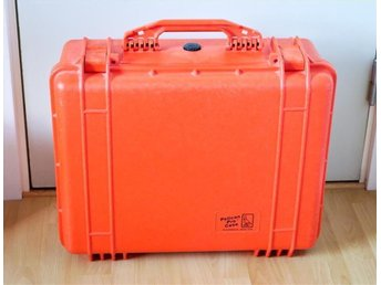 Kameraväska Pelican Pro Case 1550, orange