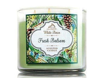 BATH & BODY WORKS 3-wicks Candle FRESH BALSAM ***FYNDA*** - Stora Höga - BATH & BODY WORKS 3-wicks Candle FRESH BALSAM ***FYNDA*** - Stora Höga