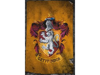 Poster (61x91 cm) - Harry Potter - Gryffindor Flag (FP3954)