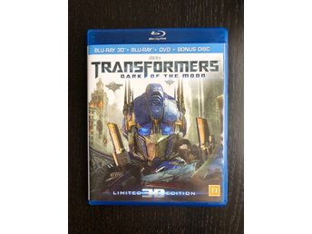 Transformers Dark of the Moon 3D blu ray