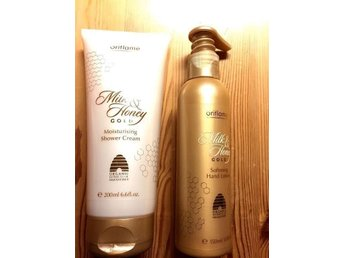 Oriflame Milk & Honey Moisturizing Shower Cream Softening Hand Lotion Kräm Dusch