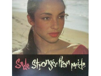 Sade. Stronger Than Pride. Vinyl Music LP. Jazz
