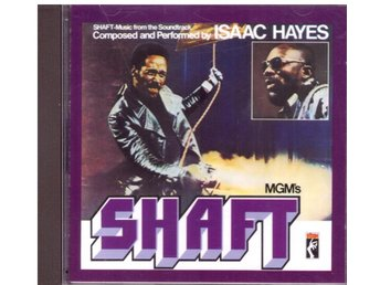 SHAFT      ISAAC HAYES      SOUNDTRACK      CD