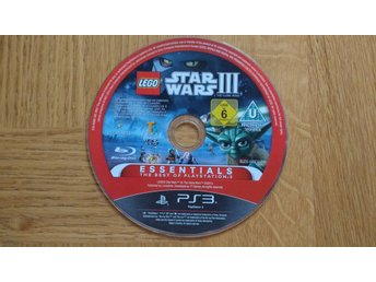 PlayStation 3/PS3: LEGO Star Wars III (endast skiva)