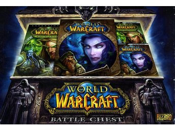 World of Warcraft Battlechest - Guider till WOW-grundspel & The Burning Crusade