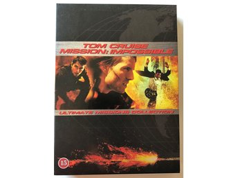 MISSION IMPOSSIBLE I - III COLLECTION - DVD