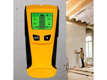 NEW 3 in 1 LCD Stud Wood Wall Center Finder Scanner Metal AC Live Wire Detector