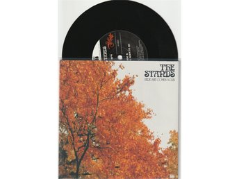 THE STANDS 7'' - Here she comes again, UK -04, Limited edition, signerad, PS