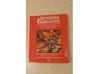Dungeon and Dragons SET 1 Basic rules extra
