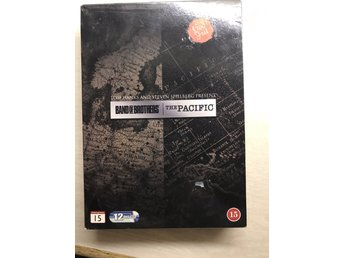 Band of brothers / the pacific samlingsbox 12 dvd filmer